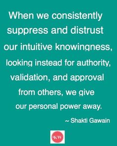 Intuition...