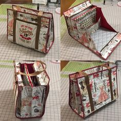 Ultimate carry all bag for sewing and crafts - Ultimate carry all bag for sewing, quilting and any kind of crafts – Sewing Patterns at Makerist - Sewing Hacks, Sewing Tutorials, Sewing Crafts, Sewing Tips, Quilting Tutorials, Quilting Ideas, Quilting Projects, Sewing Ideas, Sacs Tote Bags