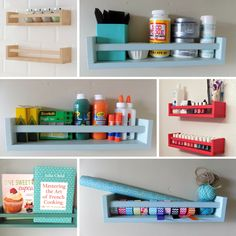 Anyone Have an IKEA Obsession? We are Here to Feed it… – - Tulpen Dekoration Diy Storage Bench, Storage Hacks, Kitchen Island Ikea Hack, Ikea Hack Bedroom, Ikea Spice Rack, Spice Racks, Bathroom Hacks, Bathroom Ideas, Home Organisation
