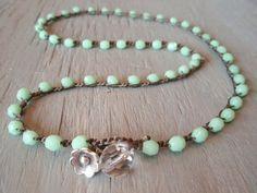 'Spring Flowers' boho jewelry