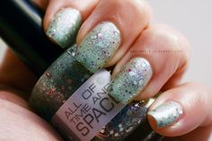 Nerd Lacquer All of Time and Space #manicure #beauty #nailpolish #indie #doctorwho