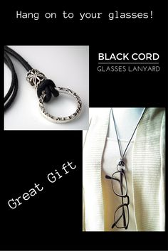 Fun lightweight cotton cord lanyard for your glasses.  Wear to work or on the beach.  Don't lose your sunglasses or reading glasses.