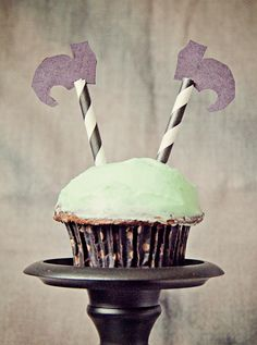 Halloween Cupcake Topper Wicked Witch Of the West