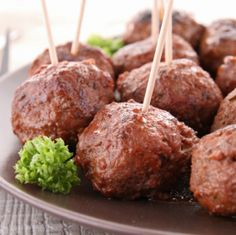 These miniature meatballs are a great party appetizer and an economical way to feed a crowd.  We recommend…