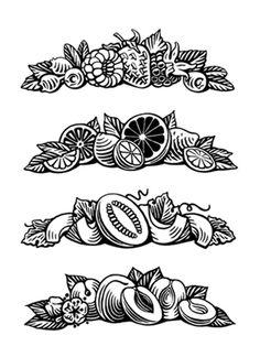 Illustrations for labels.