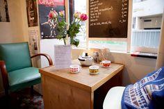 Restaurant Tuck Shop (Café-resto bio), 13, rue Lucien-Sampaix  Paris (75010)