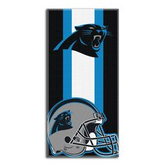 "Panthers OFFICIAL National Football League, ""Zone Read"" 30""x 60"" Beach Towel - by The Northwest Company"