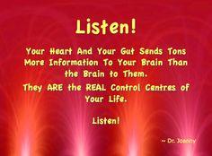 Listening is a necessary skill