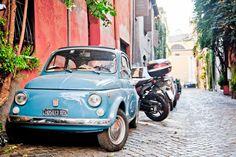 Blue Fiat, Rome