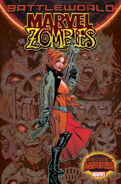 Marvel Zombies :: 1 (Secret Wars) variant by Greg Land