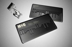 MODHair muscial comb business card