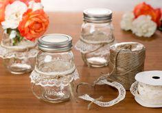 Mason Jar Decorations #CraftWarehouse