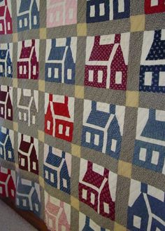 antique house quilts - Google Search