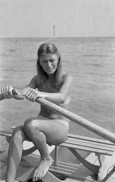 Anouk Aimée (Born: Françoise Sorya Dreyfus - April 27, 1932 - Paris, Île-de-France, France)