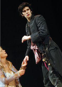 Ben Whishaw as Hamlet in Trevor Nunn's 2004 Old Vic production.