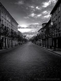 Gatvės...