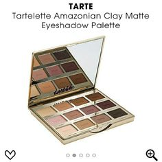 Tarte Tartelette Amazonian Clay Matte Palette Brand new in box! Tarte Tartelette Amazonian Clay Matte Eyeshadow Palette  Gorgeous palette!   This set contains:  - 12 x 0.053 oz Shadows in Free Spirit (cream), Force Of Nature (nude), Dreamer (warm brown), Multi-Tasker (chocolate), Caregiver (pale pink), Natural Beauty (mauve), Best Friend (mulberry), Bombshell (dark plum), Super Mom (ivory), Wanderer (light brown), Power Player (taupe), Fashionista (black).  - Step-by-step look guide tarte…
