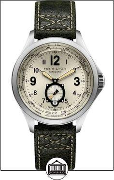 HAMILTON - Montre Homme Hamilton Khaki QNE H76655723 Bracelet Cuir Brun - H76655723 de  ✿ Relojes para hombre - (Lujo) ✿