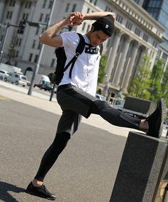 BAYFLOW Men's(ベイフロウ メンズ)の《三浦理志さん着用アイテム!》BAYFLOW/ポンチサイドキリカエショートパンツ 16SS(パンツ)|グレー