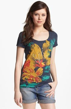 Lucky Brand Flower Graphic Tee | Nordstrom