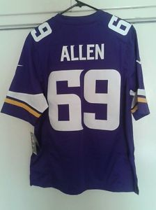 Minnesota Vikings Jared Allen #69 Purple Home Nike On Field Large Jersey NEW----SOLD!
