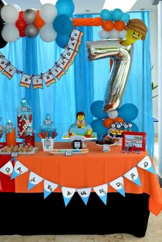 Infinity / LEGO Birthday Party Ideas | Photo 18 of 34 | Catch My Party