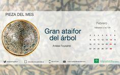 Sábado 12 h,  pieza del mes del Museo Arqueológico de la Alhambra Gran Ataifor del Árbol   Kedadas para asistir a este evento, que organiza el Patronato de la. Alhambra, a las 12 h en sala de conferencia del propio Museo Arqueológico de la Alhambra.   Imprescindible confirmar asistencia a kedada para que los asistentes se reconozcan por medio extragrupo que lo deseen se encuentren. Opción quedar diez minutos antes en la puerta del mencionado museo.  Quedada posterior para comida en la…
