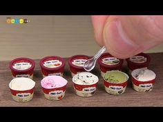 Miniature fake food - Mango Mousse. I made miniature fake food for dolls. ミニチュアマンゴームース作り カフェのドールハウスに飾るケーキ5作品目になります。季節が夏なのでそれに合わせて見た目も涼しげなマンゴームースを作ってみました。 ◆ D...