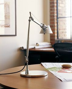 The original Anglepoise desk lamp was designed by George Carwardine. It's a classic. $250