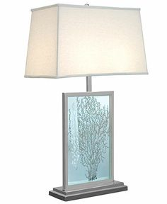 Regina Andrew Etched Sea Fan Table Lamp - Sale & Closeout - For The Home - Macy's