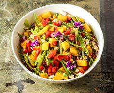 Mango Salad with Gin
