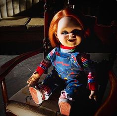 Bride Of Chucky 14 Quot Chucky Doll By Sideshow Collectibles