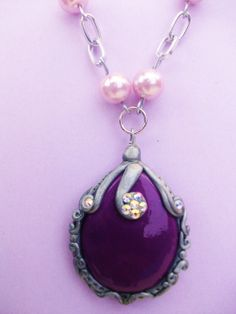 Sofia the first  amulet  necklace by creardesigns on Etsy, $12.00
