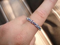 Ringerike  Chain maille ring by ValkyrjaAllure on Etsy, $8.00