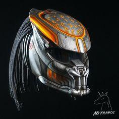 Predator Motorcycle Helmet | Motorcycle Helmet with Heads Up Display - Honda CBR250R Forum : Honda ...