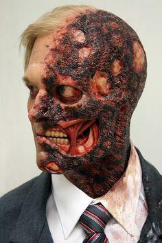 Harvey Dent bust by Jordu Schell #sculpture #vfx #batman
