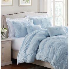 Light Blue Bedding, Blue Comforter Sets, Blue Duvet, Houses Architecture, Teen Bedding, Aqua Bedding, Teen Comforters, Bedroom Comforter Sets, Neutral Bedding