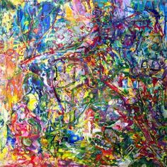 """Saatchi Art Artist Igor Eugen Prokop; Painting, """"26.  BERLIN.  WIZARD OF  THE  NATURE."""" #art"""
