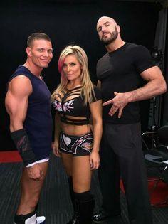 Tyson Kidd Natalya & Cesaro