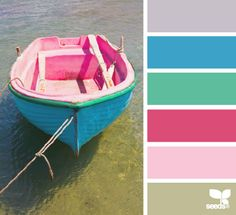 boat brights | color palette