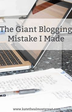 The Giant Blogging Mistake I Made: Why You Need Nofollow Links