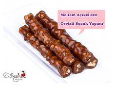 Meltem Açıkel'den Cevizli Sucuk Yapımı Turkish Recipes, Ethnic Recipes, Turkish Delight, Pastry Cake, Snacks, Ice Cream Recipes, Diet And Nutrition, Chocolate Recipes, Family Meals