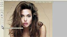 Vídeo aula de Photoshop - Retire o fundo sem danificar o cabelo usando o...