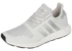 2bb1da58b adidas Womens Swift Run Grey One Silver White