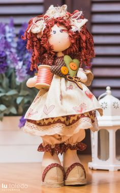 Lala Costureira (projeto) - Casinha de Bonecas
