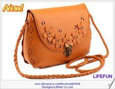 2013 new women LEATHER woven evening bag messenger bag shoulder tote bag handbag LF06311 $25.00