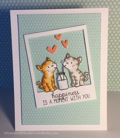 Happiness is a Moment with You – Valentine's Day Card
