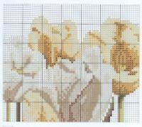 Cuscino tulipani bianchi 5/5