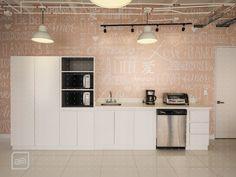 La importancia de los detalles para tener un diseño completo. Oficinas Mary Kay en Bogotá #interiordesign #decoration #kitchen #oficinas