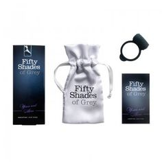 Shared pleasure and intensified stimulation for you both comes in the form of this silicone vibrating ring.   Official Fifty Shades Of Grey collection - approved by the author EL James  £12.95